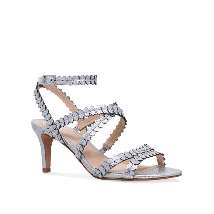 eb339844763 Yuria Metallic Mid Heel Sandals By Vince Camuto