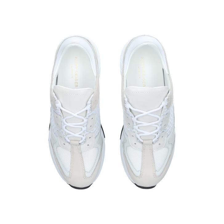 Ivanoe Trainers In White - White Kurt Geiger hqr9U