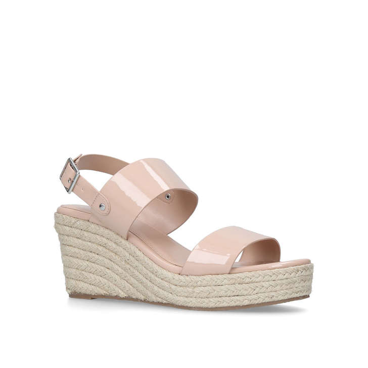 8ab074b2c Bless Nude Espadrille Wedge Sandals By Carvela
