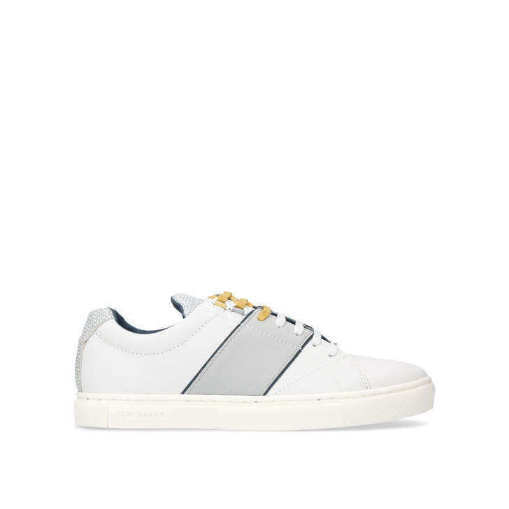 e0a0ac3168bd Quana Sneaker White Low Top Trainers By Ted Baker