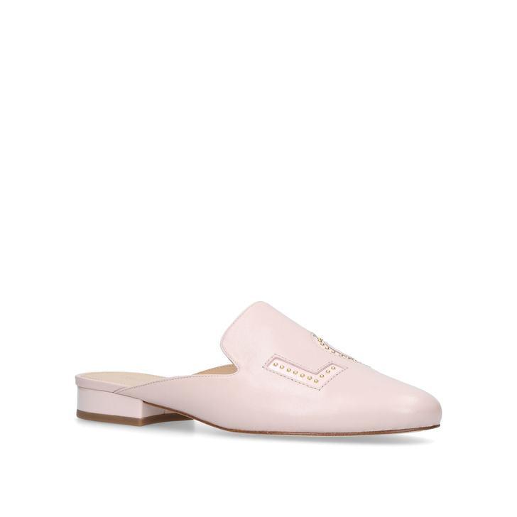 51202e2f983f Franny Love Mule Pink Flat Slip On Mules By Michael Michael Kors ...
