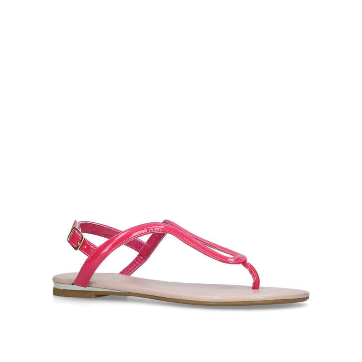 perfect Pink 'Acorn' flat sandals outlet store locations cheap sale big sale free shipping store cheap shopping online 48MeZggOD