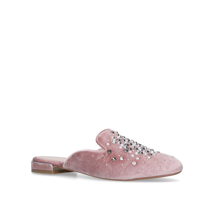 Nude 'Lattifa' embellished slip on mules for sale cheap online free shipping factory outlet Cheapest sale online btcK3PD