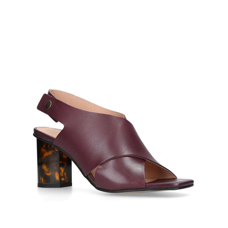 Kurt Geiger Stride sandal 70 - red mid heel sandals Online Cheap Online Sale Websites Sale Inexpensive Outlet Shop Discount Wiki avMatzZwTc