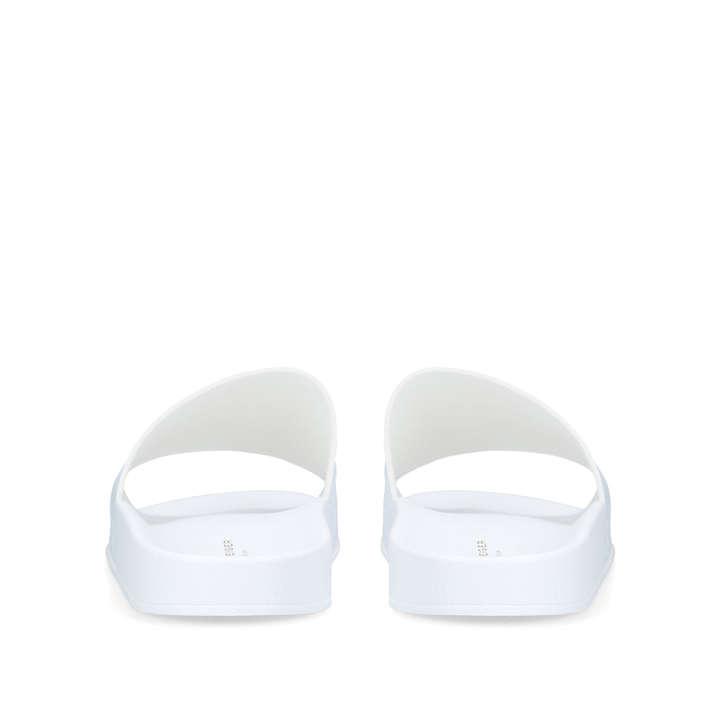 860c3f694b6e Waikato Palm White Sliders By Kurt Geiger London