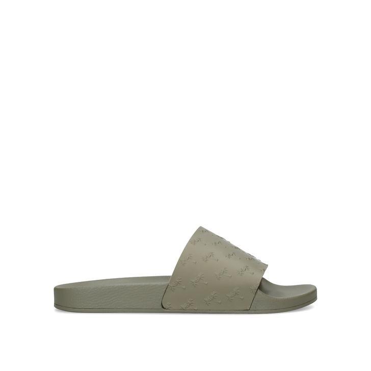 Men's Shoes 2019 New Style Kurt Geiger Waikato Palm Sliders size 8 Sandals & Beach Shoes