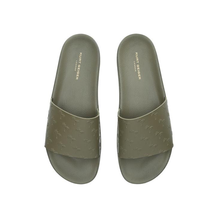 size 8 Sandals & Beach Shoes 2019 New Style Kurt Geiger Waikato Palm Sliders Men's Shoes