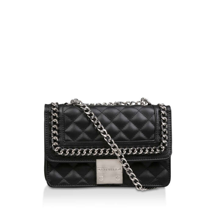 Bailey Qltd Chn Shldr Bag Black Chain Shoulder Bag By Carvela  36b2aa9c5f63a