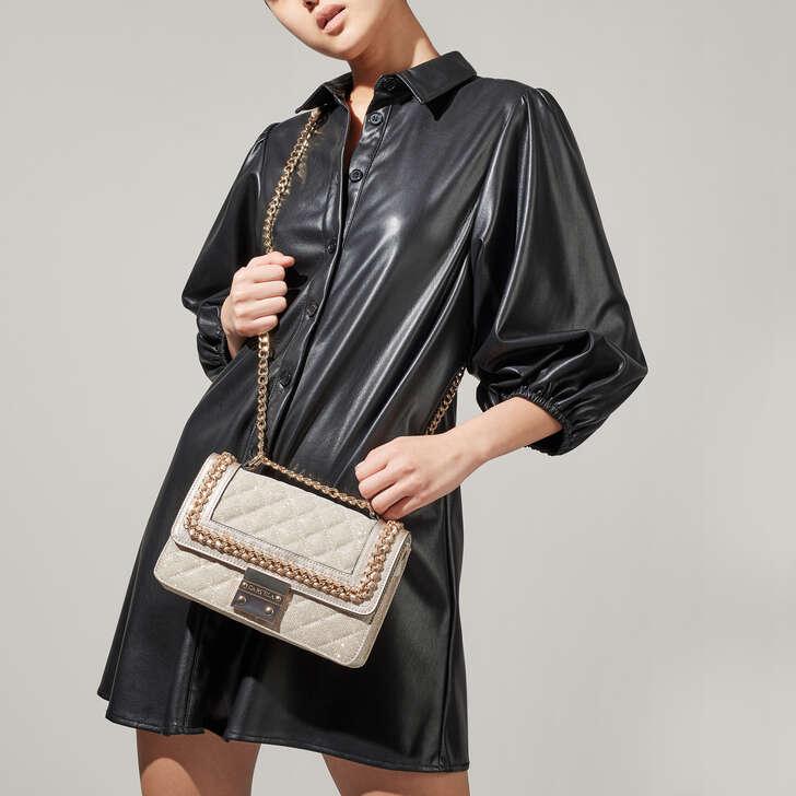 860b3292887 Bailey Qltd Chn Shldr Bag Gold Chain Shoulder Bag By Carvela