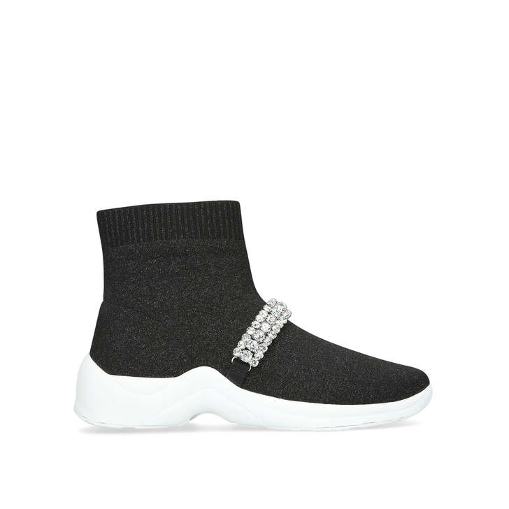 Clearance Hot Sale 2018 New For Sale Kurt Geiger Linford sock - black sock trainers Outlet Where Can You Find For Cheap Price rJbDL4QAg