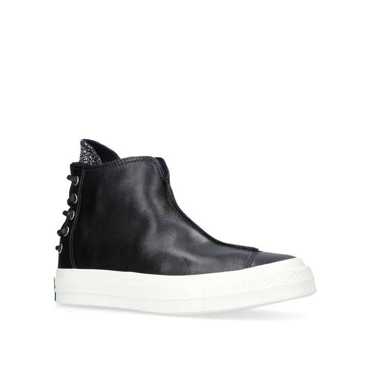 ced13c21c7d7 Ctas 70 Punk Black High Top Trainers By Converse