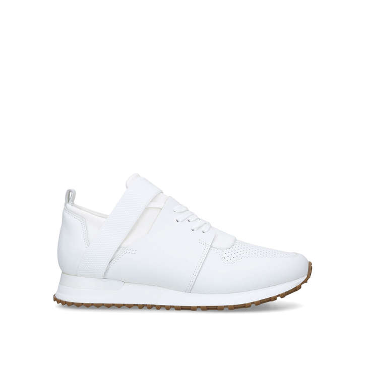 a3a31f10f1f1 Elast White Low Top Trainers By Mallet