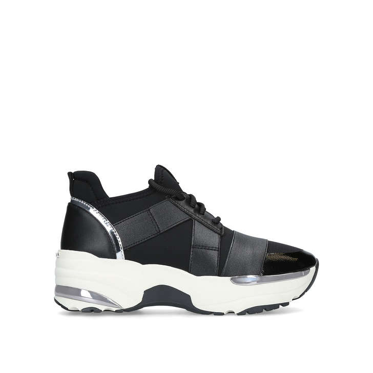 aaecd09f51fd1 Lauryn Black Chunky Trainers By Carvela
