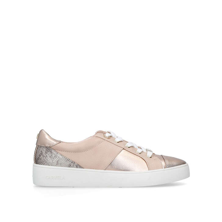 JAGGER Blush Low Top Trainers by