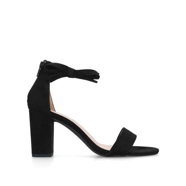 6a29bdde2 Patsy Black Block Heel Sandals By Miss KG