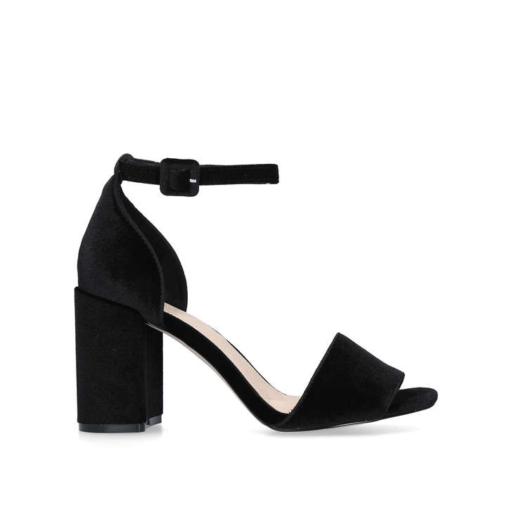 Cheap Price Store Cheap Price Wholesale Price Kurt Geiger Francine - black open toe sandals Clearance Low Price Fee Shipping Cheap Shop For Free Shipping Pay With Paypal YXCafSOO