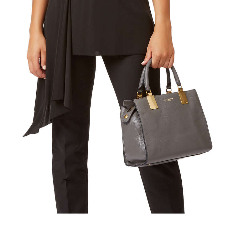 LEATHER EMMA SM TOTE