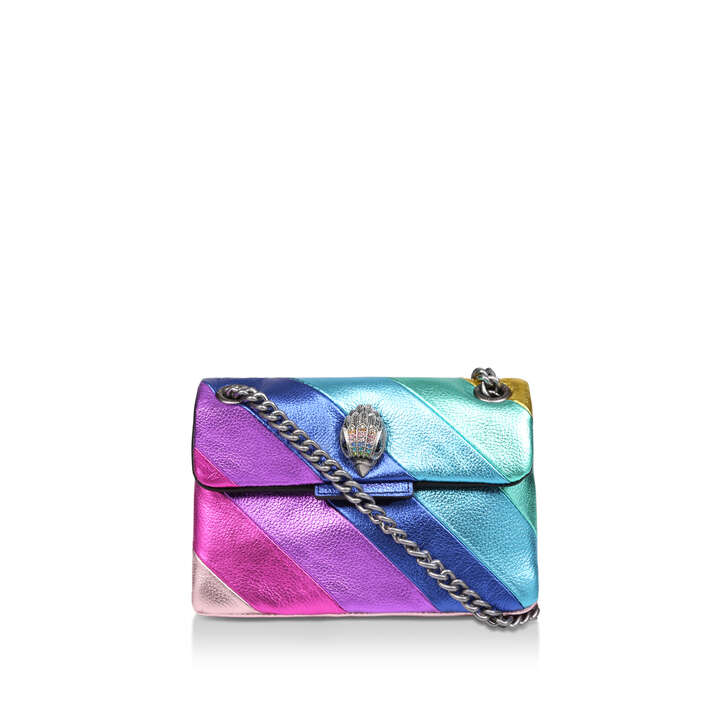 fa285ff680c1 Mini Kensington S Bag Rainbow Stripe Mini Shoulder Bag By Kurt Geiger  London | Kurt Geiger