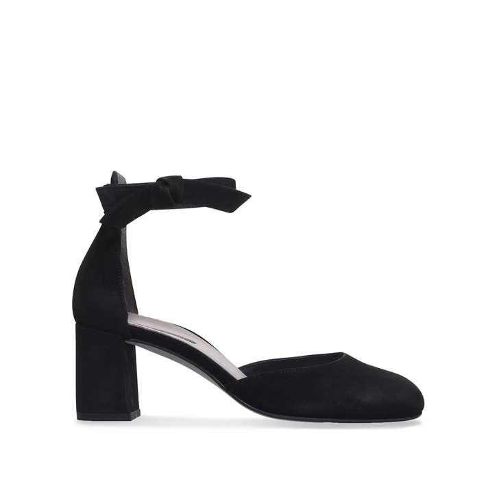 Paul Green Callie - black mid heel sandals