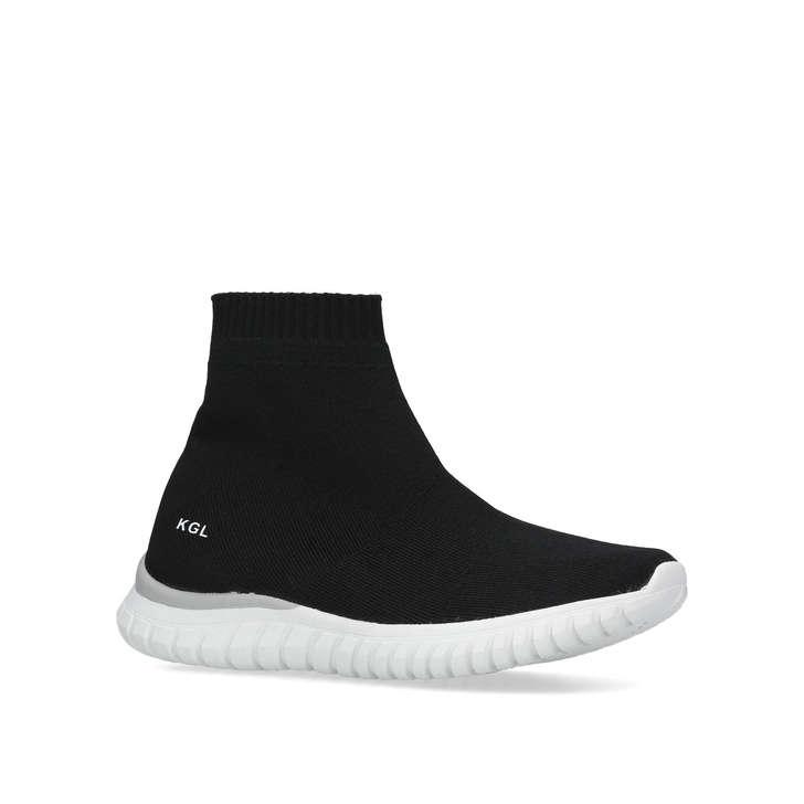 Mini Linford Sock Kids Black High Top