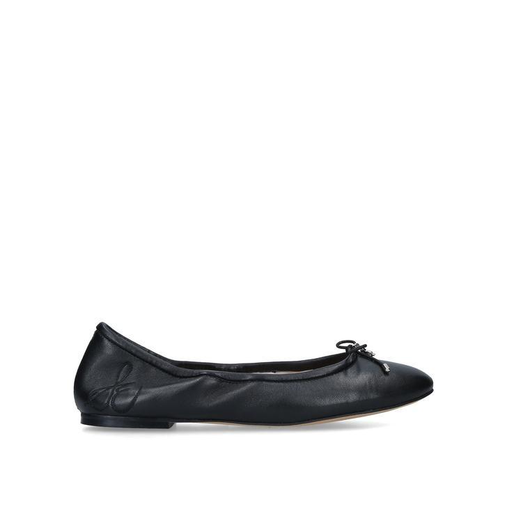 957a96cd5892 Felicia Ballerina Black Flat Ballerina Shoes By Sam Edelman