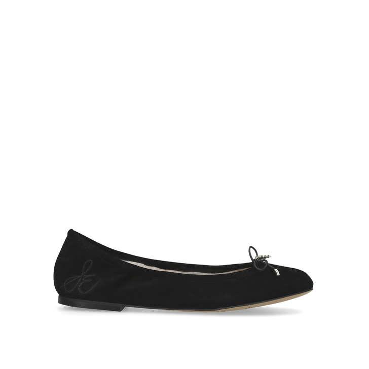 69eb0861aebc Felicia Ballerina Black Flat Ballerina Shoes By Sam Edelman