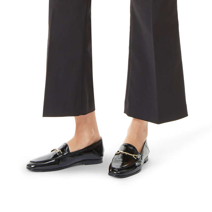 9861ad1d2f7 Loraine Loafer Black Patent Loafers By Sam Edelman