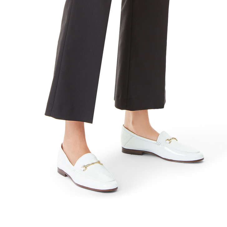 475b9f9b06e Loraine Loafer White Loafers By Sam Edelman