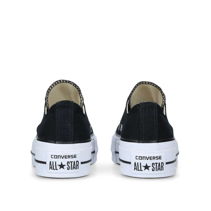 f0d10467de Ct Lift Low Black Low Top Platform Trainers By Converse | Kurt Geiger