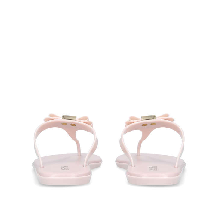 6d4a4adaf Caroline Jelly Thong Pink Flat Jelly Sandals By Michael Michael Kors ...