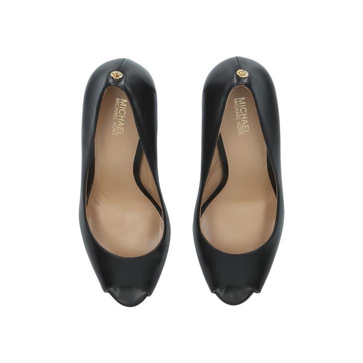 294413879c15 Erika Platform Black Platform High Heel Shoes By Michael Michael ...