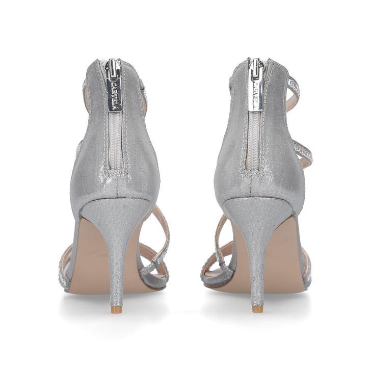 Liquor Metallic Studded Strappy Heeled Sandals By Carvela Kurt Geiger