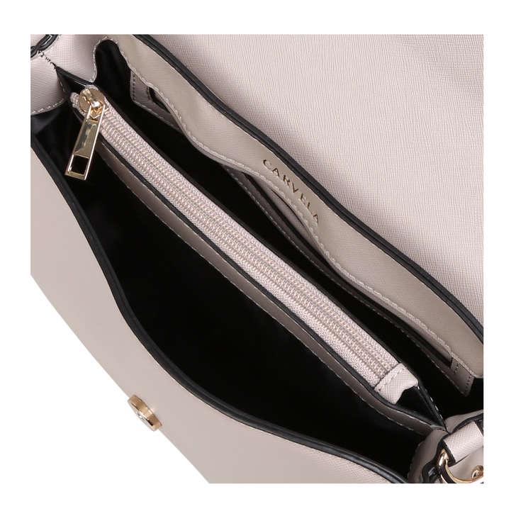eb489099bf9 Blink Chain Handle Bag White Shoulder Bag By Carvela