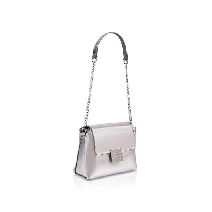 ab9645bc401 Mini Blink Shoulder Bag Metallic Silver Shoulder Bag By Carvela ...