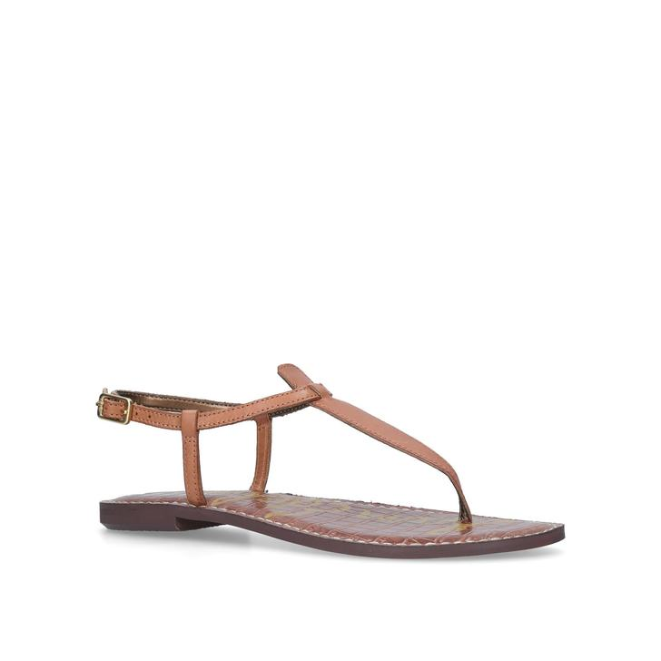 39fd41cd1 Gigi Sandal Tan Flat Sandals By Sam Edelman