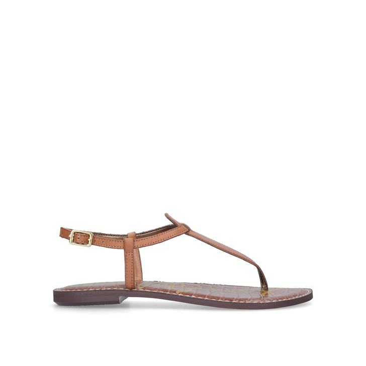 fb33e0d18400fd Gigi Sandal Tan Flat Sandals By Sam Edelman