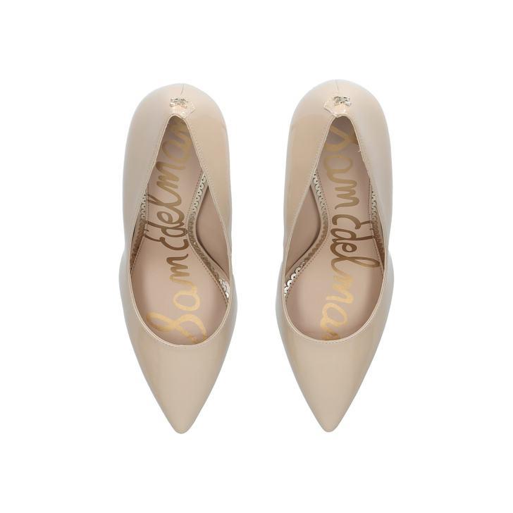 6736124d299353 Hazel Pump 90 Nude Court Shoes By Sam Edelman