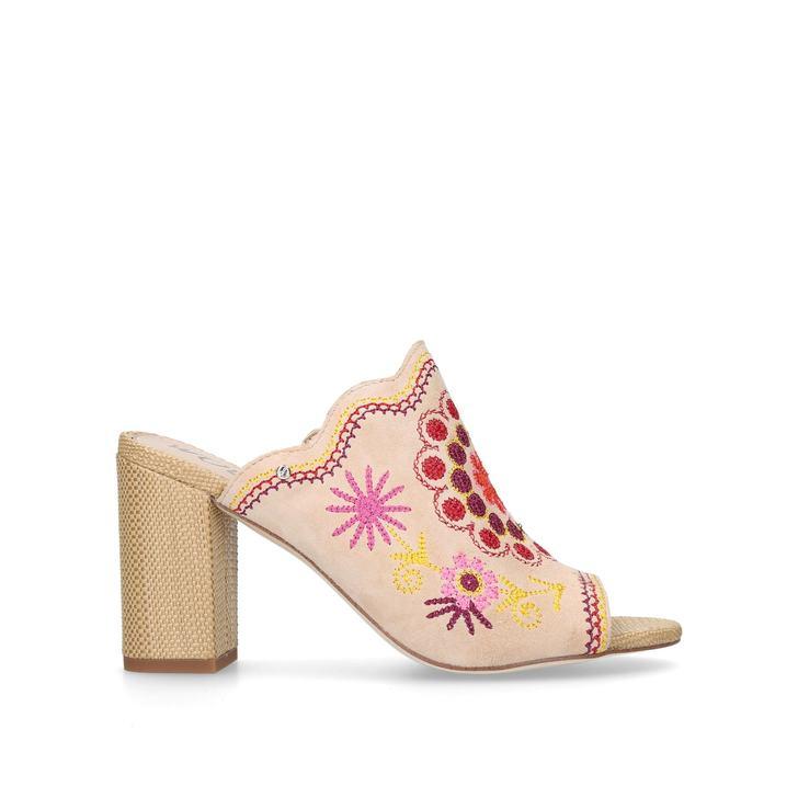 Sale Newest Sam Edelman Olive sandal 90 - black mid heel sandals Clearance Store Sale Online Cheap Hot Sale Y85Ish