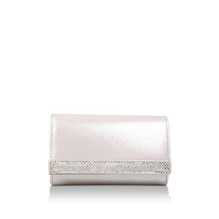 Kink Silver Clutch Bag By Carvela  8bad7440046d3