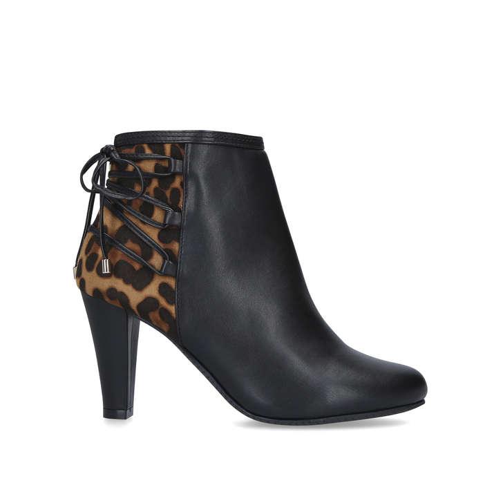autumn shoes cheap prices best sell TASH Leopard Print Ankle Boots by CARVELA COMFORT   Kurt Geiger