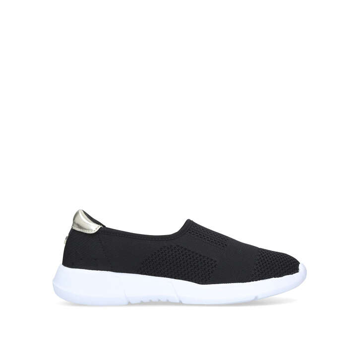 Carly 2 Black Slip On Trainers By Carvela Comfort