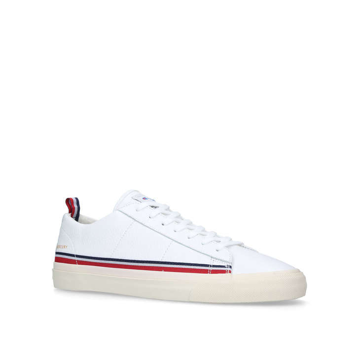 d71347ebb Mercury Low Leather White Low Top Trainers By Champion