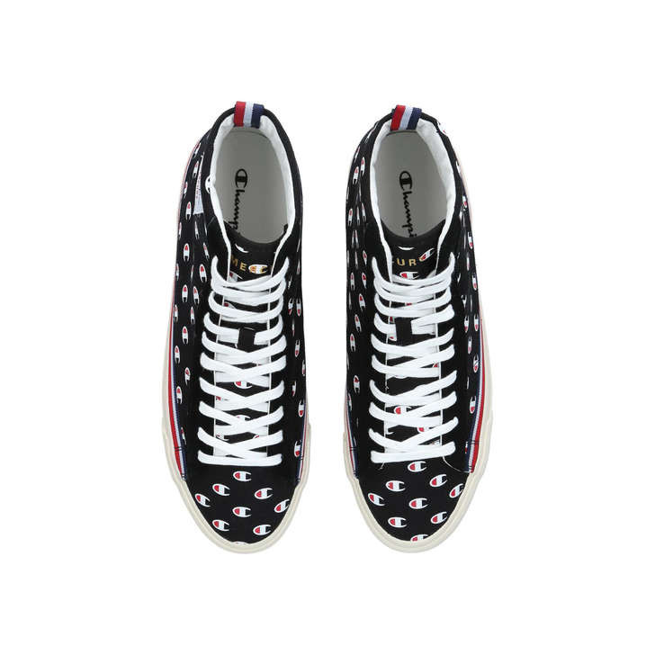 ae96b6a7153 Mercury Mid Snkr Black High Top Trainers By Champion
