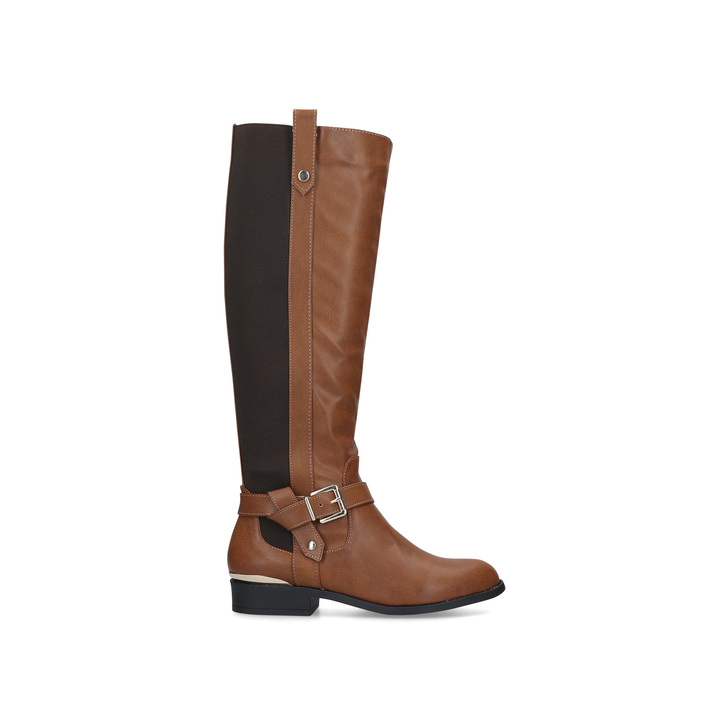 TAYLOR Tan Knee High Boots by CARVELA