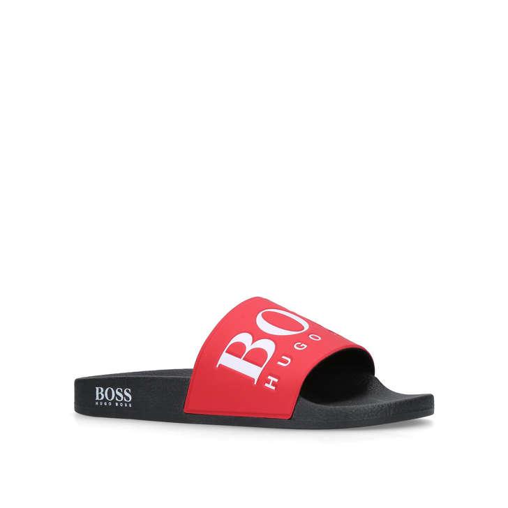 91543f3f0111 Solar Slide Red Pool Sliders By Boss