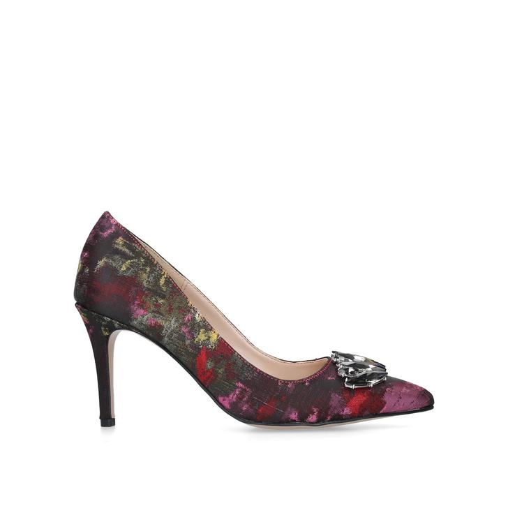 Lively Multi-coloured Pointed Toe Court