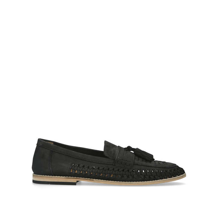 0dd4dc74efb Nice Black Tassel Loafers By Kurt Geiger London