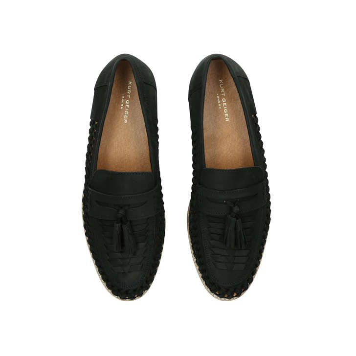 0dd4dc74efb Nice Black Tassel Loafers By Kurt Geiger London