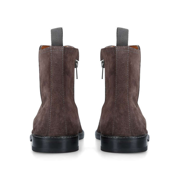 7ab5e83182f Bournemouth Grey Suede Chelsea Boots By Kurt Geiger London | Kurt Geiger