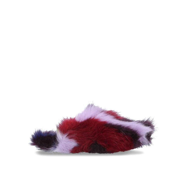 Faux Fur Slipper by Kurt Geiger London